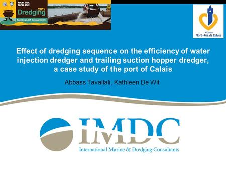 Effect of dredging sequence on the efficiency of water injection dredger and trailing suction hopper dredger, a case study of the port of Calais Abbass.