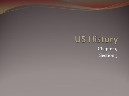 Chapter 9 Section 3 Section 3-4 Click the Speaker button to replay the audio. American sailors.