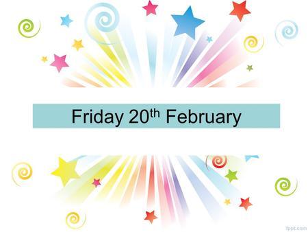 Friday 20 th February. All Year Groups Pupil Council A reminder that there is a Pupil Council meeting Period 1 today. Could all pupils involved please.