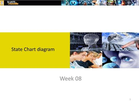 State Chart diagram Week 08 1. objective Describe State chart Diagrams in Dynamic Modelling 2.
