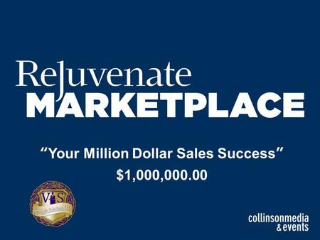 """Your Million Dollar Sales Success"" $1,000,000.00."
