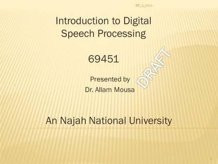 speech to introduce ellen