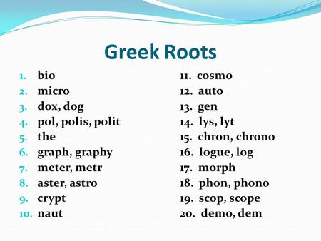 root word thesis The word keftiu has close ties with the egyptian root word meaning, pillar  foot notes and bibliography to thesis 1.