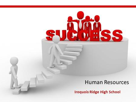 Human Resources Iroquois Ridge High School DAY 1.