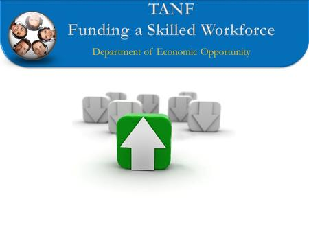 Department of Economic Opportunity. Purpose Focused TANF funding Creating strong/competitive workforce Intentional skill building Work / Education pairing.