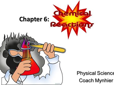 Physical Science Coach Mynhier
