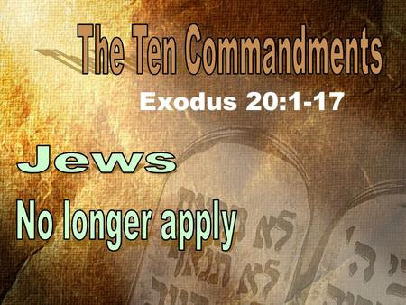 Exodus 20:1-17. 36. Master, which is the great commandment in the law? 37 Jesus said unto him, Thou shalt love the Lord thy God with all thy heart,