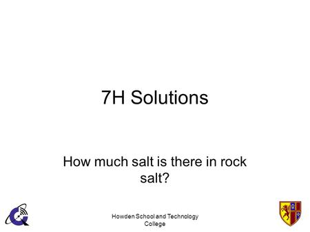 How much salt is there in rock salt?
