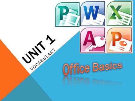 UNIT 1 VOCABULARY. INSTRUCTIONS Go to Computer Icon on desktop Click PUBLIC drive Double-Click Homework Folder Double-Click MS folder Find JWARNER folder,