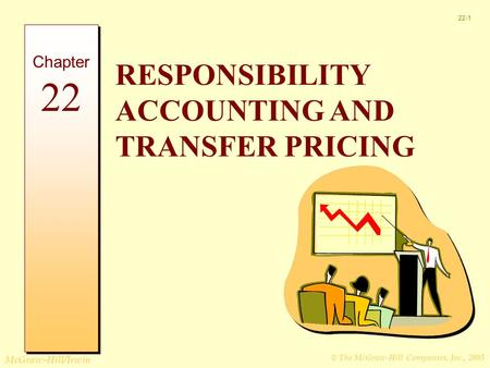 © The McGraw-Hill Companies, Inc., 2005 McGraw-Hill/Irwin 22-1 RESPONSIBILITY ACCOUNTING AND TRANSFER PRICING Chapter 22.