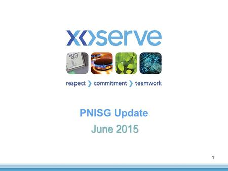 PNISG Update June 2015 1. Xoserve's UKLP Assessment Principles 1.Maintain current delivery plans where possible and appropriate e.g. don't just push all.