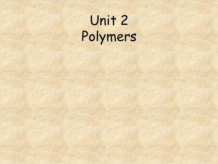 Unit 2 Polymers. Go to question 1 2 3 4 5 6 7 8 A monomer used to make Kevlar is shown opposite. What is the percentage of carbon by mass, in this monomer?