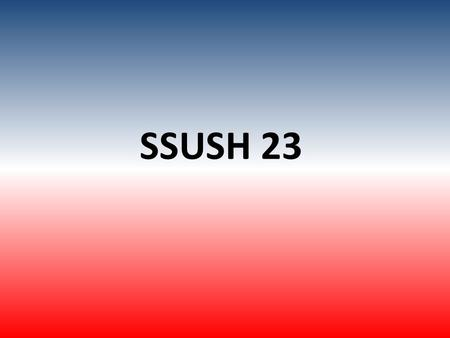 SSUSH 23. Civil Rights Act of 1964 Gave President the Power to Enforce the Law MilitaryNational Guard Prohibited discrimination in Employment and Education.