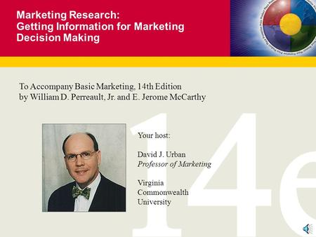 Getting Information for Marketing Decision Making