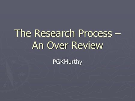 Research Proposal Template   YouTube