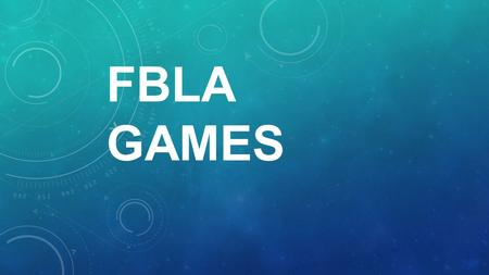 FBLA GAMES. Activity Description: This activity is a structured <strong>leadership</strong> example exchange. Divide the group into groups of three. From the list of situations