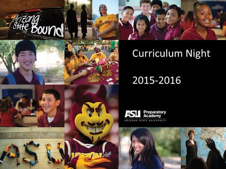 Curriculum Night 2015-2016. Mission Provide personalized, university embedded, academic programs that empower students to complete college, excel in a.