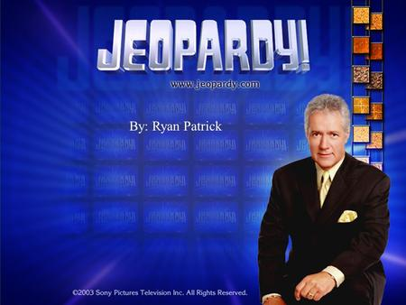 By: Ryan Patrick FOOTBALL JEOPARDY  Purpose: Teach general knowledge of Football.  Target Audience: 10 and up  Directions: A team is randomly chosen.
