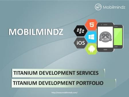 TITANIUM DEVELOPMENT SERVICES MOBILMINDZ TITANIUM DEVELOPMENT PORTFOLIO