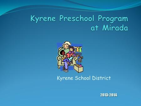 Kyrene School District 2013-2014 Meet Our Staff Special Preschool Special Education Preschool Teacher Teacher Mary Dulin B.A. Special Education ASU 1987.