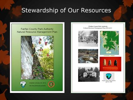 Stewardship of Our Resources. Community Engagement.