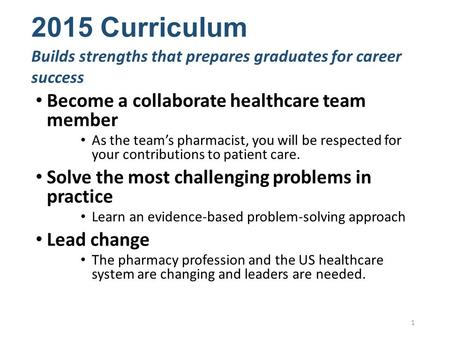 Become a collaborate healthcare team member As the team's pharmacist, you will be respected for your contributions to patient care. Solve the most challenging.