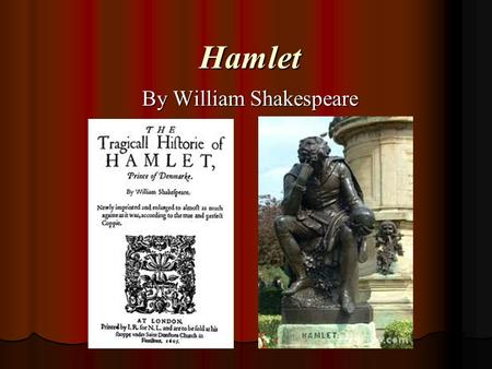 the theme of murder in the play hamlet by william shakespeare One of the foremost elizabethan tragedies in the canon of english literature is  hamlet by william shakespeare hamlet's theme shakespeare murder are a part.