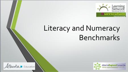 Literacy and Numeracy Benchmarks Prepared by SAPDC Learning Facilitator Team.