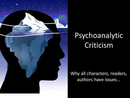 psychological criticism essay Psychological criticism of toni morrison's beloved by shelby larrick when reading toni morrison's novel, beloved, it is easy to see how readers would question the actions of her characters some characters display behavior that would seem barbaric and cruel to the average individual however, when delving deeper,.