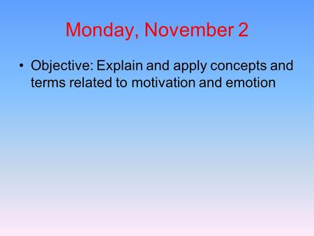 relationship of motivation and emotion