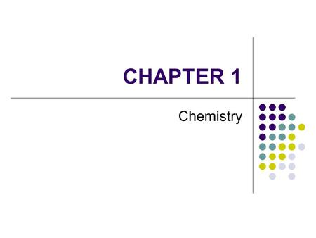 CHAPTER 1 Chemistry. What is Chemistry? Natural Sciences Biological Sciences Concerned with living things Biology Physical Sciences Non-living things.