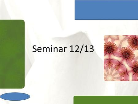 Seminar 12/13. XP Introduction  The seminar assignment will be done individually by students  The seminar assessment consists of two parts, namely written.