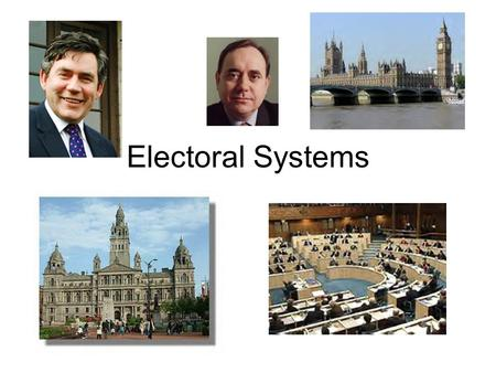 Electoral Systems. Why do we have elections? Should all citizens be allowed to vote?