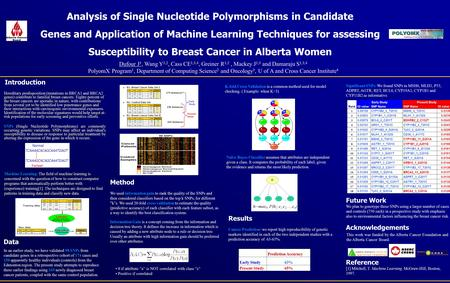 Www.polyomx.org Introduction Hereditary predisposition (mutations in BRCA1 and BRCA2 genes) contribute to familial breast cancers. Eighty percent of the.