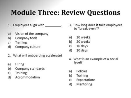 module 8 review questions