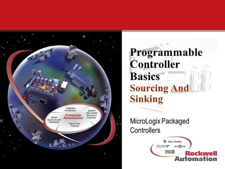 MicroLogix Packaged Controllers Programmable Controller Basics Sourcing And Sinking.
