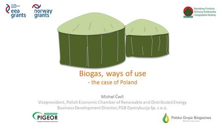 Biogas, ways of use - the case of Poland