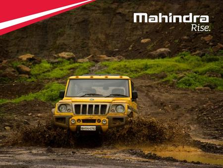 1 Copyright © 2012 Mahindra & Mahindra Ltd. All rights reserved. 1.