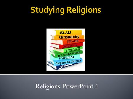 Religions PowerPoint 1. Learning Target I will be able to understand the purpose of religion, and list five of the world's largest religions. Focus –