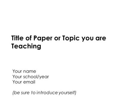 Personal Health Interface Design and Development Fall 2014 Northeastern University1 Title of Paper or Topic you are Teaching Your name Your school/year.