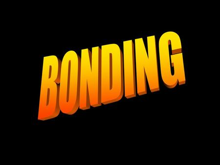 CHEMICAL BONDING IONIC BONDS COVALENT BONDS IONIC BONDING When an atom of a nonmetal takes one or more electrons from an atom of a metal so both.