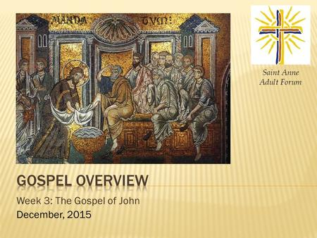 An analysis of jesus as an effective communicator in the st luke gospel