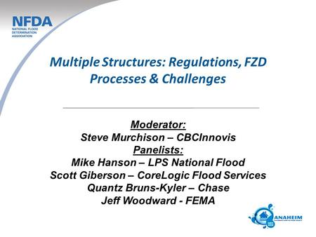 Multiple Structures: Regulations, FZD Processes & Challenges
