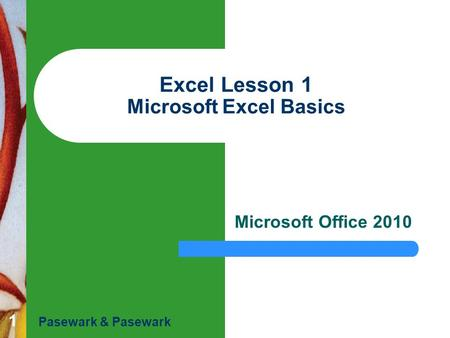 microsoft office 2010 introductory pasewark pdf