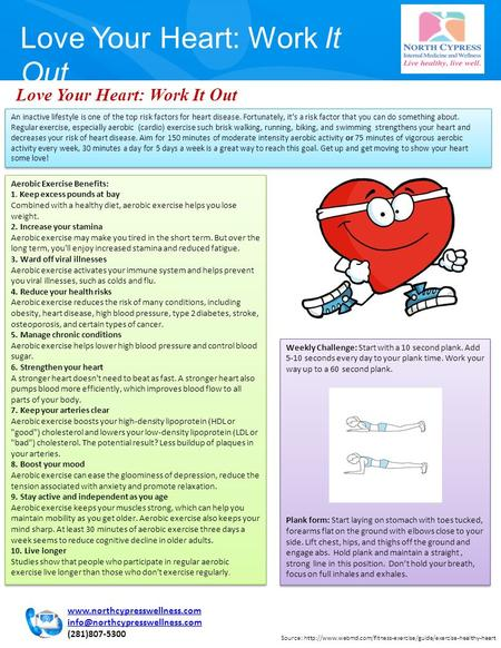 Love Your Heart: Work It Out Source: