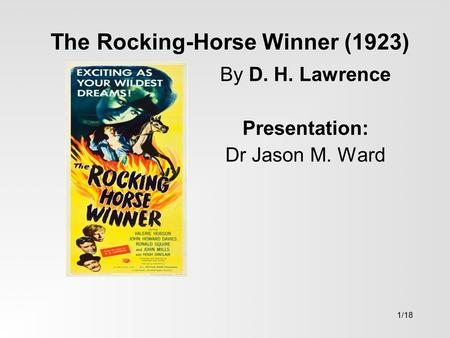 rocking horse winner thesis Thesis statement for rocking horse winner, johnny carpenter from council bluffs was looking for symbols in the rocking horse winner emily dickinson popular thesis.