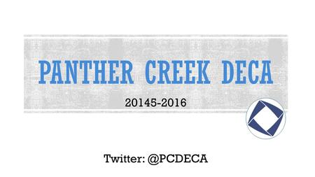 PANTHER CREEK DECA 20145-2016