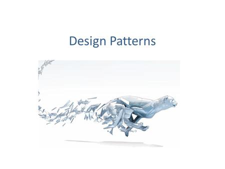 Design Patterns. 1 Paradigm4 Concepts 9 Principles23 Patterns.