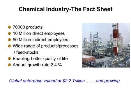 Chemical Industry-The Fact Sheet