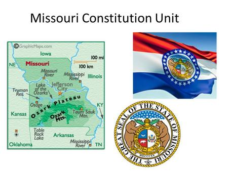 Missouri Constitution Unit. History of Missouri Thomas Jefferson, the 3rd President purchased the Louisiana Territory from France in 1803 for $15,000,000.